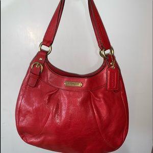 COACH Slim leather hobo purse